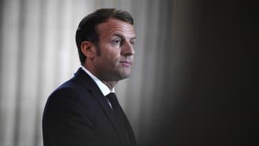 Emmanuel Macron au Panthéon le 4 septembre 2020