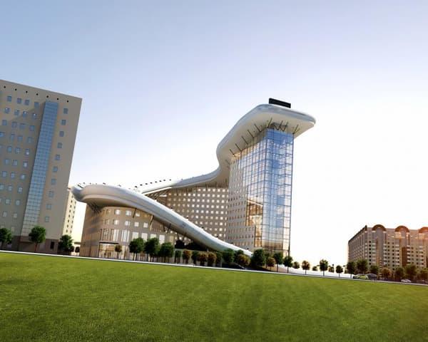 """Le projet """"Slalom House"""" sera présenté lors du prochain Festival mondial de l'architecture, à Berlin, du 18 à 20 novembre 2016."""