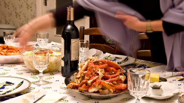 Une tablée de fêtes (Photo d'illustration)