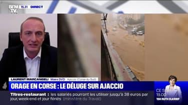 """Inondation à Ajaccio: """"L'épisode n'était pas prévu"""" assure le maire DVD de la ville"""