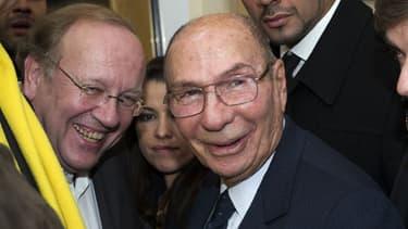 Jean-Pierre Bechter et Serge Dassault