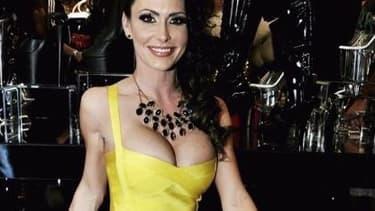 L'actrice de films pornographiques Jessica Jaymes