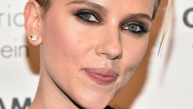 Scarlett Johansson, le 1er décembre 2014 à New York.