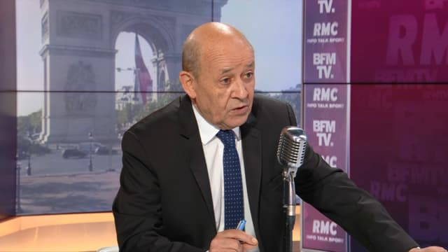Jean-Yves Le Drian, invité de BFMTV vendredi 18 juin 2021