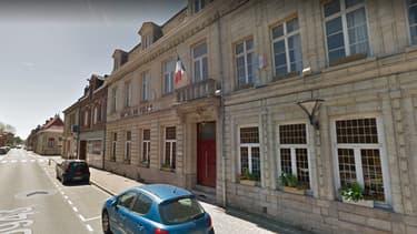 La mairie de la commune de Bouchain, près de Valenciennes.