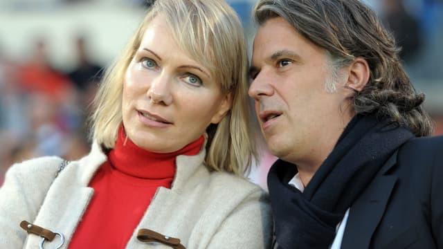 Margarita Louis-Dreyfus et Vincent Labrune