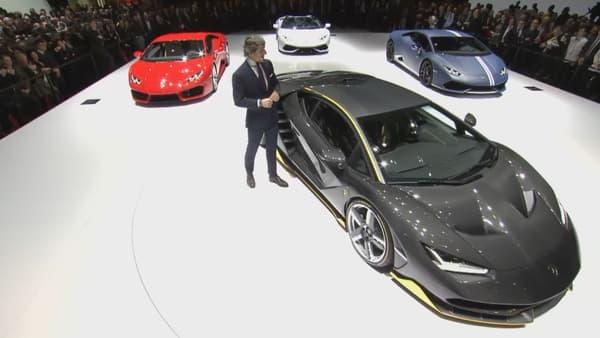 Stephan Winkelmann a fait ses adieux en tant que patron de Lamborghini en dévoilant la Centenario, une Lamborghini de 770ch.