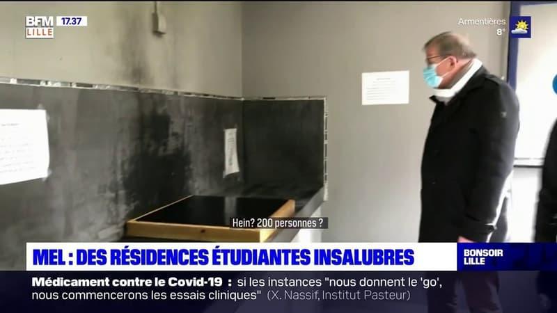 Métropole Européenne de Lille: des résidences étudiantes insalubres, un député interpelle Frédérique Vidal