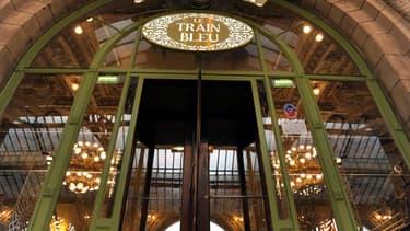 Le restaurant Le Train Bleu, situé à la gare de Lyon, à Paris, le 21 novembre 2014.