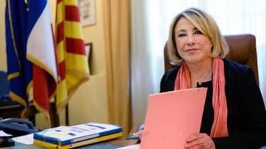 Maryse Joissains-Masini en décembre dernier. Elle était alors candidate à sa succession.