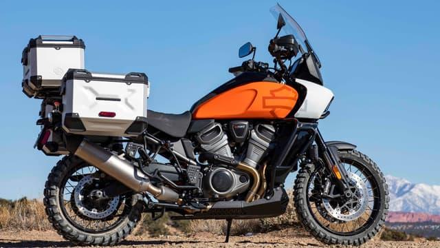 """La Pan America 1250 est moto made in USA conçue pour aller """"du cercle polaire arctique au pied du Kilimandjaro"""""""