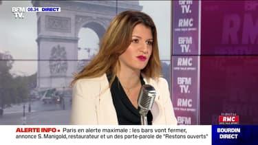 Marlène Schiappa face à Jean-Jacques Bourdin en direct - 05/10