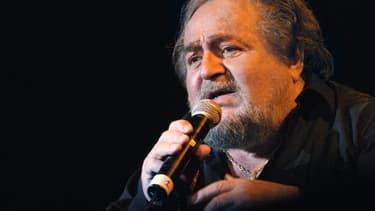 Richard Anthony, lors de l'une de ses dernières représentations au Zénith de Paris en 2006.
