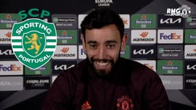 """C'est Sporting Clube de Portugal"", Bruno Fernandes corrige un journaliste"