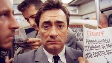 """Le comédien Artus de Penguern dans le film """"Grégoire Moulin contre le reste du monde"""", qu'il a lui-même réalisé, en 2001"""