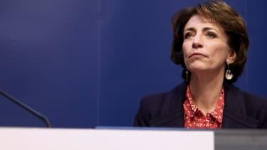 """La ministre de la Santé, Marisol Touraine, appelle à une """"vraie généralisation de la couverture santé""""."""