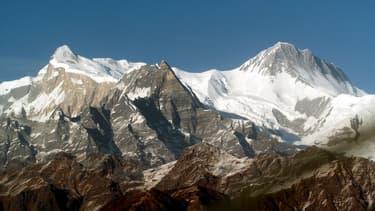 Montagnes de l'Himalaya, le 4 décembre 2007