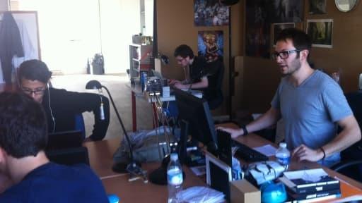Julien Chièze et la rédaction de Gameblog