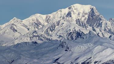 Le Mont-Blanc. (photo d'illustration) - Wikimedia -