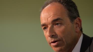 Jean-François Copé lors d'une réunion publique à Viry-Châtillon le 4 février.