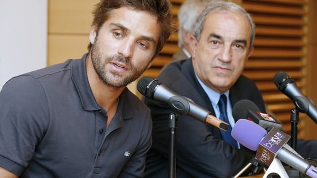 Arnaud Clément et Jean Gachassin
