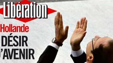 Libération reprend le slogan de Ségolène Royal en Une.