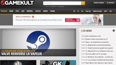 Gamekult est le second site français d'information sur les jeux vidéo