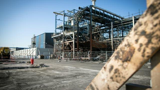 L'usine Lubrizol, à Rouen, le 18 septembre 2020.