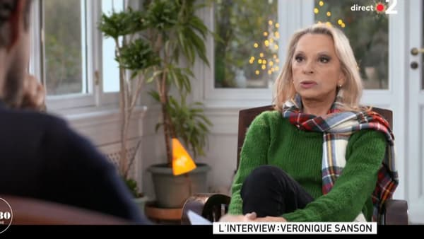 Véronique Sanson face à Laurent Delahousse