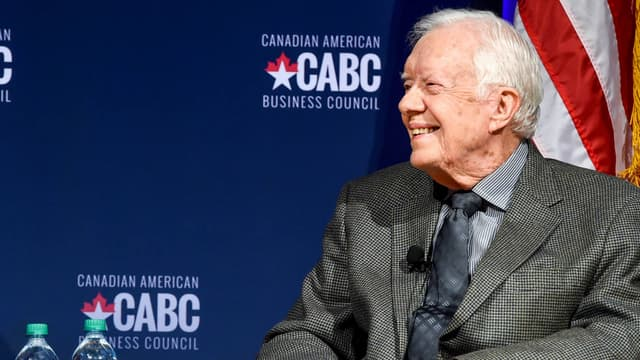 Jimmy Carter, ancien président des Etats-Unis.