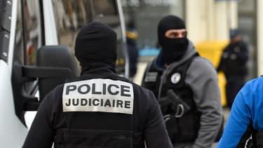 Des policiers du RAID durant une opération antiterroriste. (Illustation)