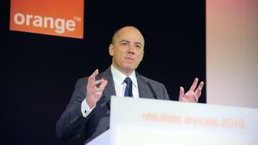 La bourse, qui espère une consolidation, a applaudi aux déclarations de Stéphane Richard