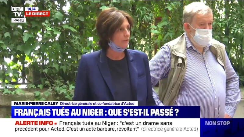 Français tués au Niger: Marie-Pierre Caley, directrice générale de l'association Acted, raconte ce qu'il s'est passé