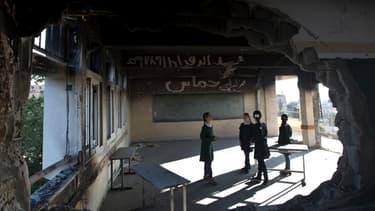 Palestiniens et israéliens ont conclu un accord pour reconstruire Gaza, détruit sous les roquettes (Photo d'illustration).