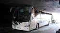 Un autocar espagnol s'est encastré dans un tunnel à la Madeleine.