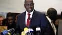 Avant les résultats complets du scrutin, Macky Sall a été félicité dimanche par son adversaire, le président sortant Abdoulaye Wade, pour sa victoire à la présidentielle sénégalaise. /Photo prise le 25 mars 2012/REUTERS/Joe Penney