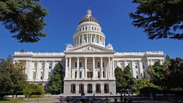Capitole de Californie à Sacramento