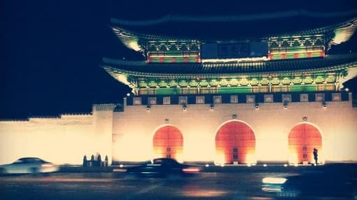 Le palais impérial coréen, à Séoul