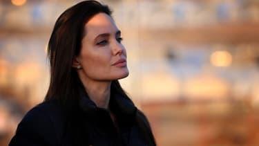 Angelina Jolie, le 25 janvier 2015