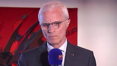 Bernard Boucault, préfet de police de Paris, ce lundi.