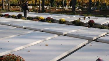 Le fils de la défunte venait se recueillir deux fois par an sur la tombe de sa mère, enterrée au cimetière parisien de Thiais (photo d'illustration).