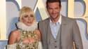 """Lady Gaga et Bradley Cooper à la première de """"A Star is Born"""" à Londres, en septembre 2018"""
