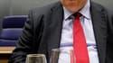 Le ministre grec des Finances Evangelos Venizelos, à Luxembourg. La zone euro a refusé dimanche de débloquer la cinquième tranche de l'aide à Athènes et de valider un second plan d'aide au pays tant que le parlement grec n'aurait pas voté un nouveau progr