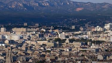 Quartiers du nord-est de Marseille, en septembre 2018.