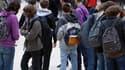 Ce lundi, une trentaine de lycéens n'ont pas pu pénétrer dans l'enceinte du lycée...