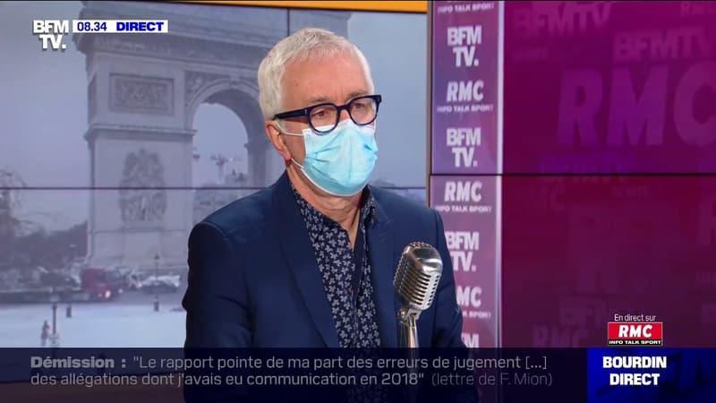 Le Pr Gilles Pialoux constate