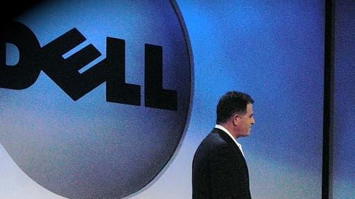 Michael Dell au cours d'une présentation en janvier 2007.