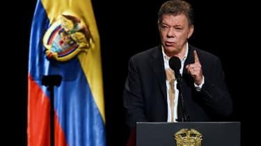 Juan Manuel Santos, le 24 novembre 2017