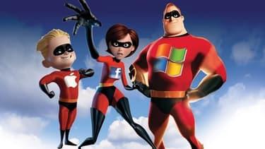 """""""Les Intaxables"""", parodie du dessin animé """"Les Indestructibles"""" (""""The Incredibles"""")"""