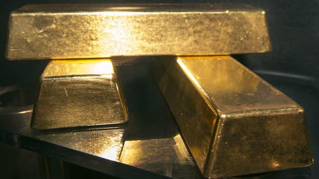 """Treize lingots d""""or, d'une valeur totale de près de 450.000 euros, ont été dérobés ce mercredi par deux faux policiers, chez un retraité de Romainville, près de Paris. (Photo d'illustration)"""